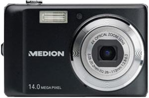 Medion Life P43018 (MD 86358) Slim-Design-Digitalkamera