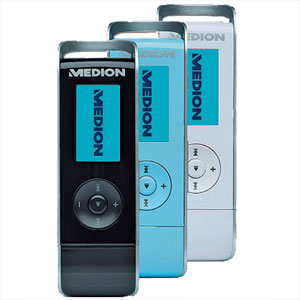 Medion Life P60007 (MD 82889) Design MP3-Player